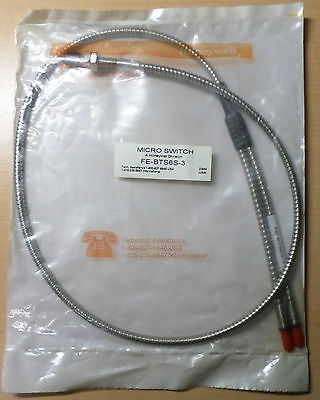 Honeywell Microswitch FE-BTS6S-3 Glasfaser Lichtleiter, Fiber Optic Cable