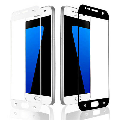 9H Full Cover Curved Tempered Glass Film Screen Protector For Samsung Galaxy S7