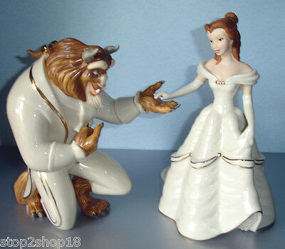 Lenox Disney Beauty and The Beast My Hand My Heart is Yours BELLE New Boxed!