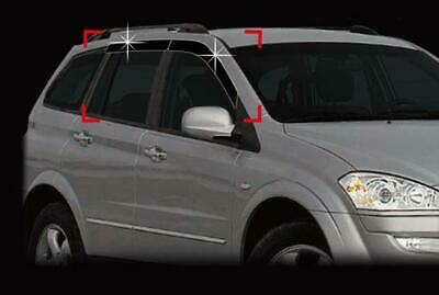 For Ssangyong Kyron 2006 - 2011 Wind Deflectors Set (4 pieces)