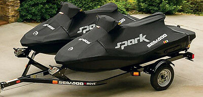 New! Seadoo Spark 2 up Cover 280000555 Black - CLOSEOUT