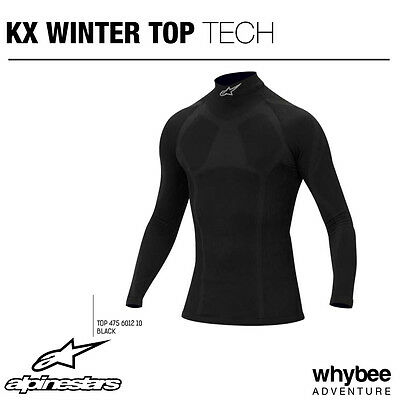 4756012 Alpinestars KX KARTING WINTER LONG SLEEVE T-SHIRT TOP UNDERWEAR KART