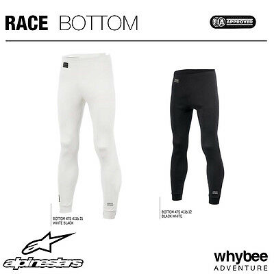 4754116 Alpinestars RACE PANTS FIREPROOF UNDERWEAR LONG JOHNS FIA SFI APPROVED