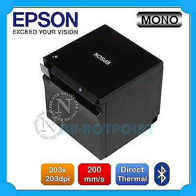 Epson TM-M30 Direct Thermal Bluetooth POS Receipt Printer+NFC (P/N:C31CE95212)