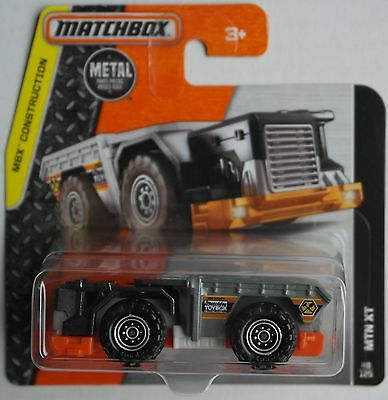Matchbox - Mountain Mover / MTN XT anthrazitmet./grau/orange Neu/OVP