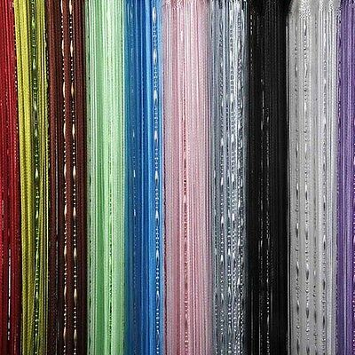 Colors Chain Beads String Door Curtain Screen Divider Room Window Blind Tassel