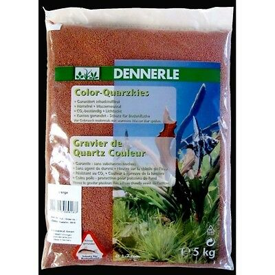 Dennerle Color-Quarzkies -  orange 5 kg