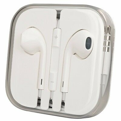 Genuine Apple MD827LL/A Earpods, Earphones for iPhone 6 5 4S Remote & Mic NEW