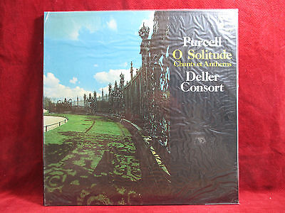 Henry Purcell  O SOLITUDE - CHANTS ET ANTHEMS  Deller Consort LP unplayed
