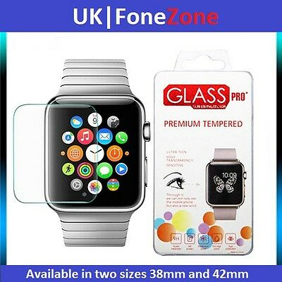 apple iwatch watch tempered glass screen protector 38mm