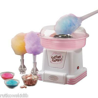 White & Pink Counter Top Hard Candy/Sugar Free Cotton Candy Maker