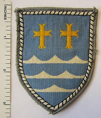 Vintage WEST GERMAN ARMY 11 PANZER GRENADIER DIVISION HQ BUNDESWEHR PATCH