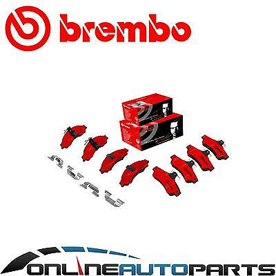 Brembo Front + Rear Disc Brake Pads Set Commodore VT VX VU VY VZ 9/1997~2006