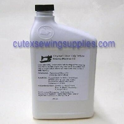 Lily White Sewing Machine Oil - 28 Oz. Bottle