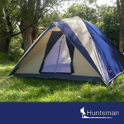 BRAND NEW 4 man person Huntsman camping dome tent