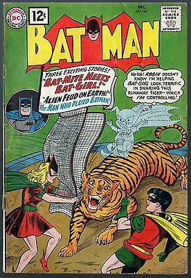 Batman (1940) #144 VG- (3.5) with Robin / Bat-Mite Meets Bat-Girl / Joker story