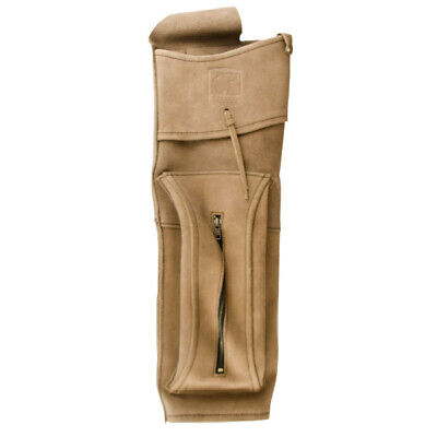 Bear Archery Deluxe Back Quiver - Traditional Leather Arrow Holder
