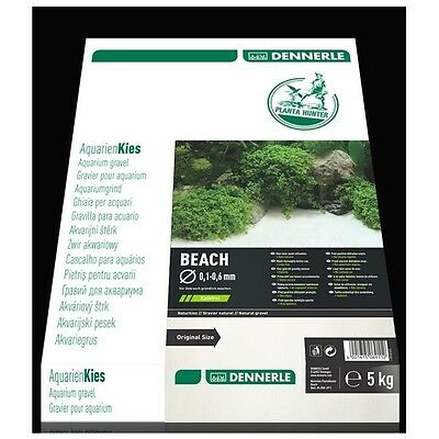 Dennerle Naturkies Plantahunter Beach 0,1-0,6mm - 5 kg