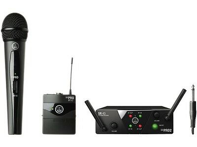AKG WMS 40 MINI Dual Vocal/Instrumental Set