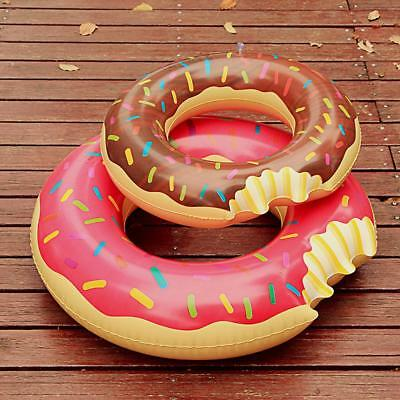 Swimming Swim Donut Ring Float Inflatable Pool Beach Adult Kids Size Summer Gift