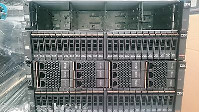 IBM V7000 Storwize 2076-224 with 24 x 300GB Hard Drives 00L4519 85Y5862