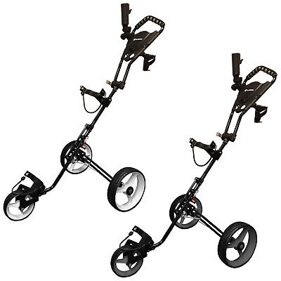 Md Golf Turfglider Superstrong 3 Wheel Aluminium Golf Trolley New Push Cart 2016