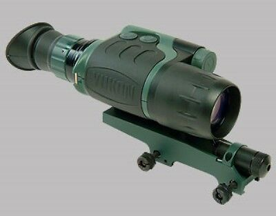 Yukon Nvmt 5 Spartan Monocular Night Vision Viewer Rifle Scope Kit
