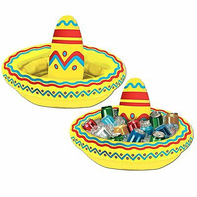 Mexican Sombrero Inflatable Cooler