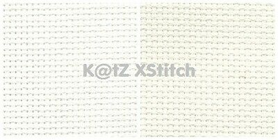 1m x 1.56m 16 COUNT DMC AIDA CROSS STITCH FABRIC Various Colours