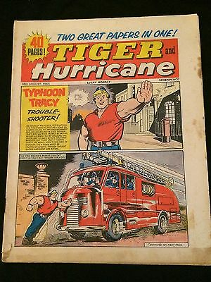 TIGER AND HURRICANE Aug. 28, 1965 VG Condition British