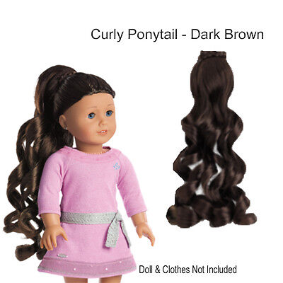 how to make curly doll hair