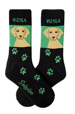 Vizsla Socks Lightweight Cotton Crew Stretch