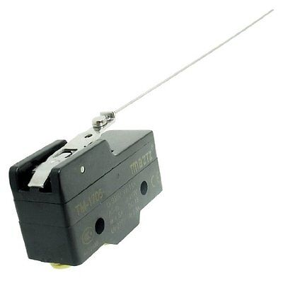 TM-1705 Long Hinge Lever SPDT Momentary Micro Switch Ui 380V Ith 15A