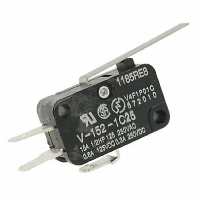 V-152-1C25 Straight Hinge Lever AC DC Micro Switch