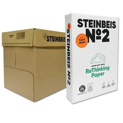 2500 Steinbeis Trend White DIN A4 80g Kopierpapier Druckerpapier Made in Germany