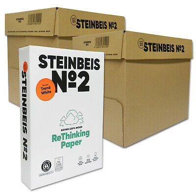 5000 Steinbeis Trend White DIN A4 80g Kopierpapier Druckerpapier Made in Germany