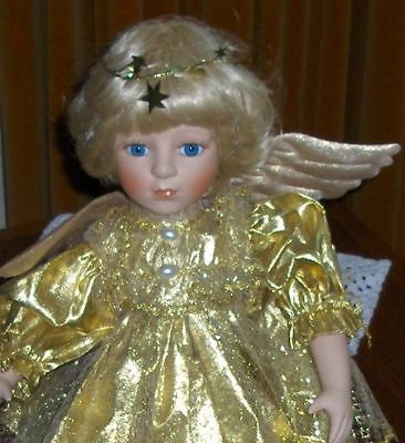 Gorgeous Porcelain Angel Doll Removable Angel Wardrobe