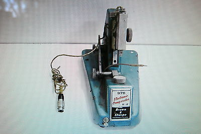 "Brown & Sharpe Model 975 Electronic Comparator 0"" - 2"""
