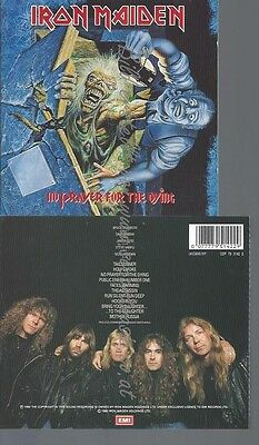 CD--IRON MAIDEN --NO PRAYER FOR THE DYiNG