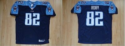 NFL Authentic Football ONFIELD Jersey Trikot TENNESSEE TITANS Roby 82 sz52 XXXL