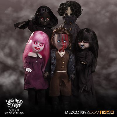 Living Dead Dolls Set of 5 Series 31 Dont Turn Out The Lights Mezco