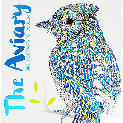 The Aviary Colouring Book by Various (Paperback), Non Fiction Books, Brand New
