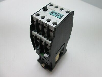 Siemens 3TH4244-0B Contactor, 4-Pole, Contacts: 4x N/O 4x N/C, Coil: 24VDC