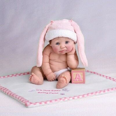 Its Not Easy Being Cute Doll - Ashton Drake Hats off to you Baby - Sherry Rawn