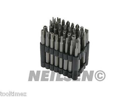 Long Security Bit Set - 32pc Power Bits - Driver - Phillips Torx  Spline 2875