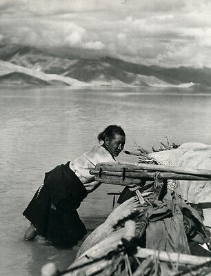 Photo Argentique Tibet 1962