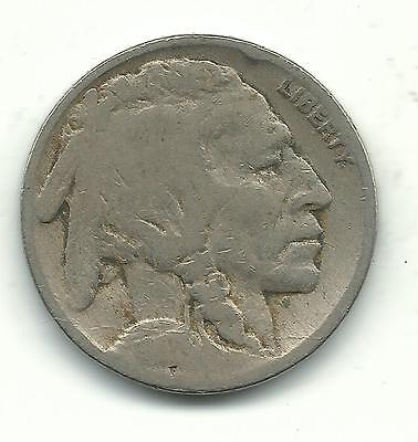 A Better Date Very Nice Vintage 1917 P Buffalo Nickel-Old Us Coin-Jan217