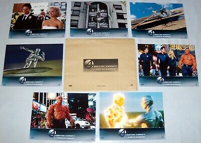 FANTASTiC FOUR : RiSE OF SiLVER SURFER Alba Gruffudd Marvel 7 FRENCH LOBBY CARDs