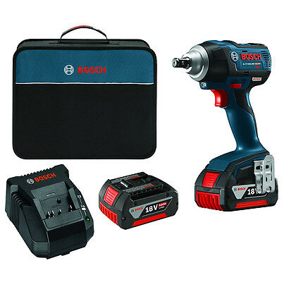 Bosch IWMH182-01 18-Volt 1/2-Inch EC Brushless Square Drive Impact Wrench Kit