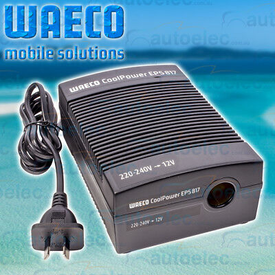 Waeco Fridge 240V To 12V Mains Power Adaptor Transformer Eps-817A